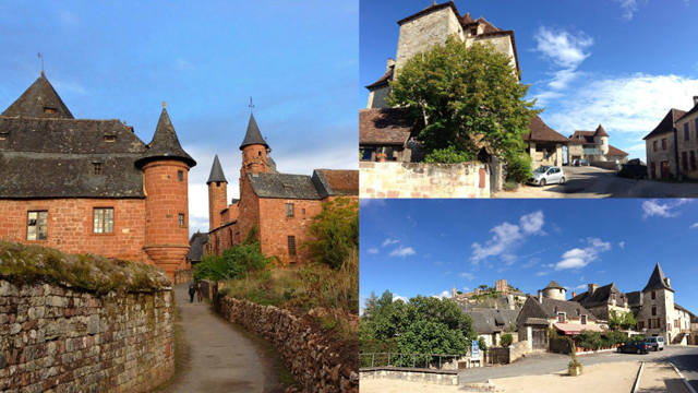 Collonges-la-Rouge, Curemonte et Turenne comptent parmi les plus beaux villages de France. © Cap Sud Ouest - France 3