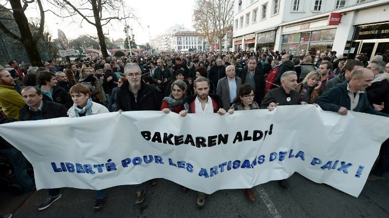 Pays basque : l'ETA aurait l'intention de se désarmer d'ici le 8 avril
