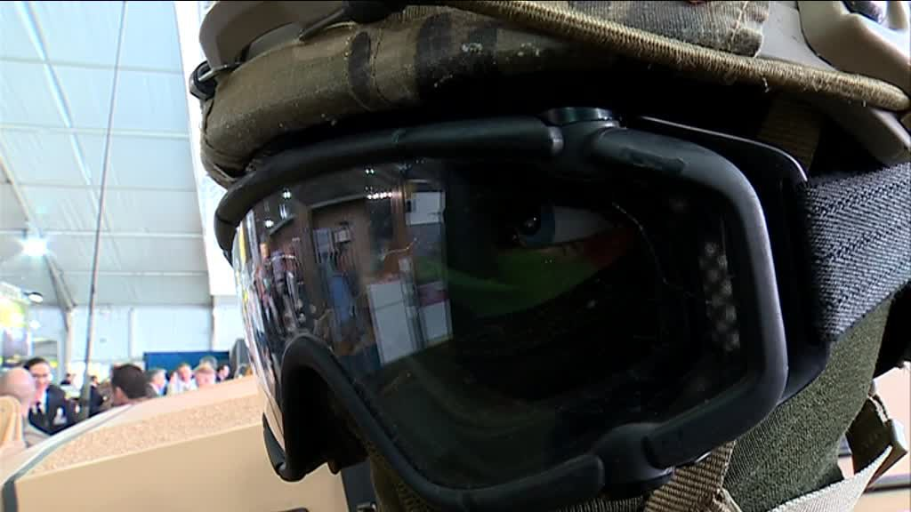 Equipement militaire au Sofins, au camp de Souge / © France 3