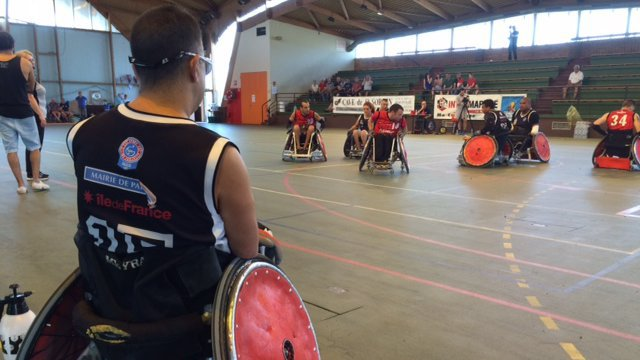 Angoulême : le rugby-fauteuil, carambolage garanti