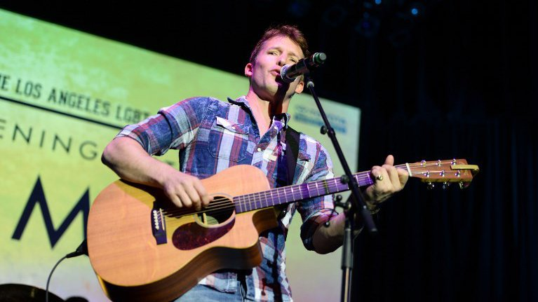 James Blunt viendra fêter les 25 ans du festival charentais. / © MATT WINKELMEYER / GETTY IMAGES NORTH AMERICA AFP