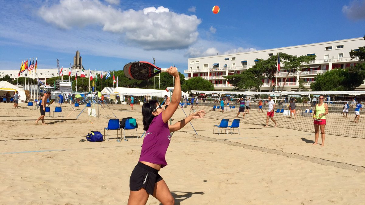 Royan à l'heure du Beach Tennis avec le 8ème Open International