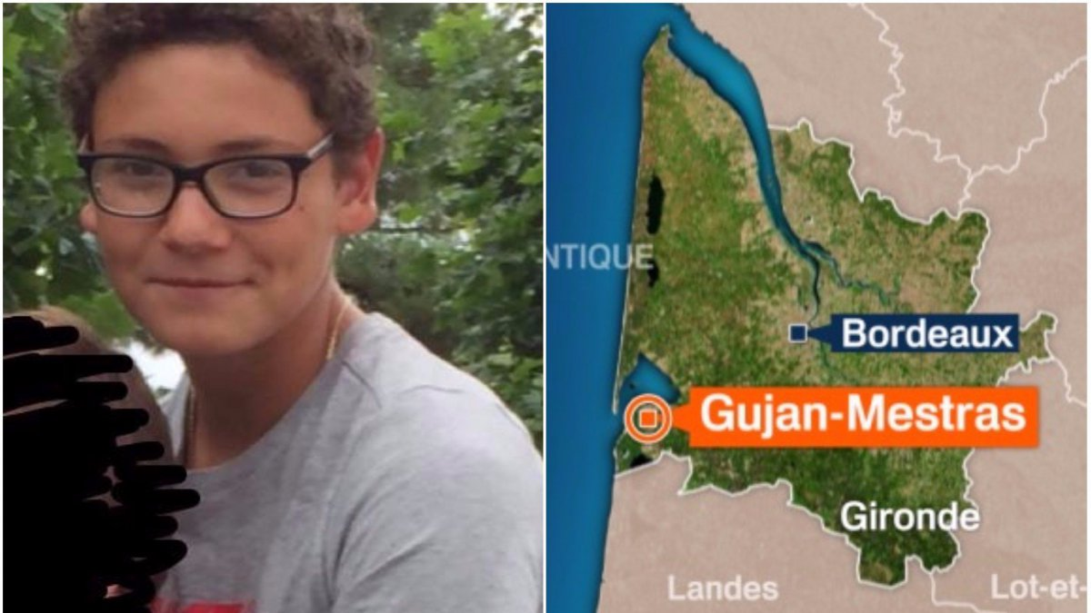 Disparition inquiétante d'un adolescent de 13 ans — Gironde