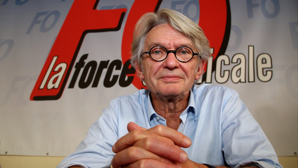 Jean-Claude Mailly, FO / © MAXPPP / VALérie Vrel