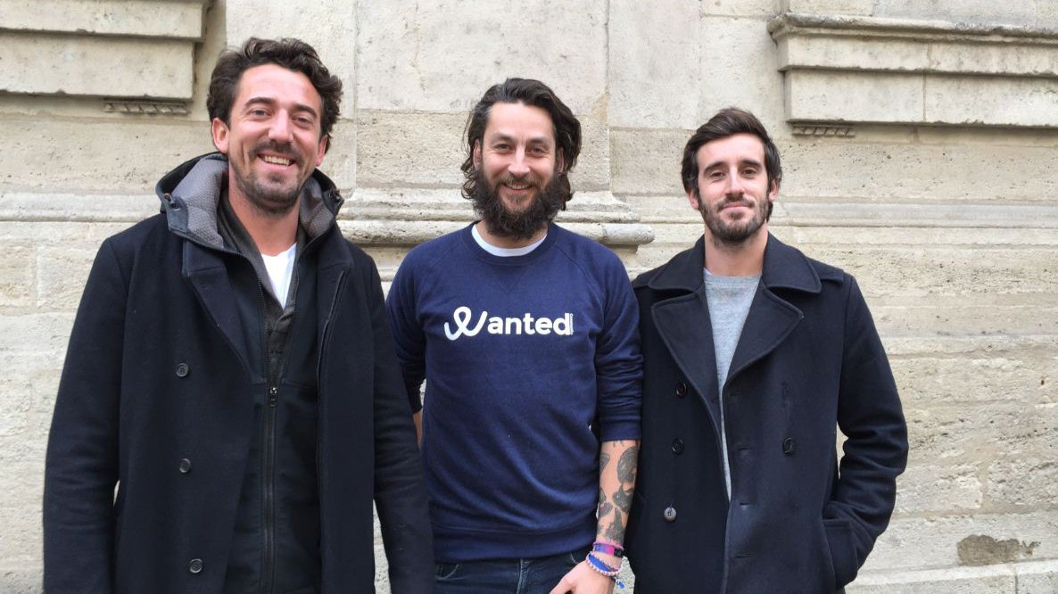 Luc Jaubert, Christian Delachet et Jérémie Ballarin, co-fondateurs de Wanted Community / © MK / France 3 Aquitaine