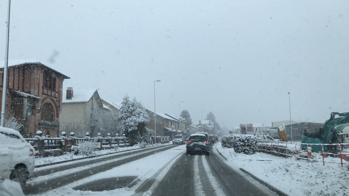 France/Neige : fortes perturbations dans les transports en Ile-de-France