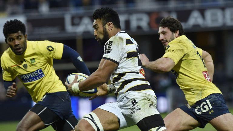 Top 14 : La Rochelle battue par Clermont