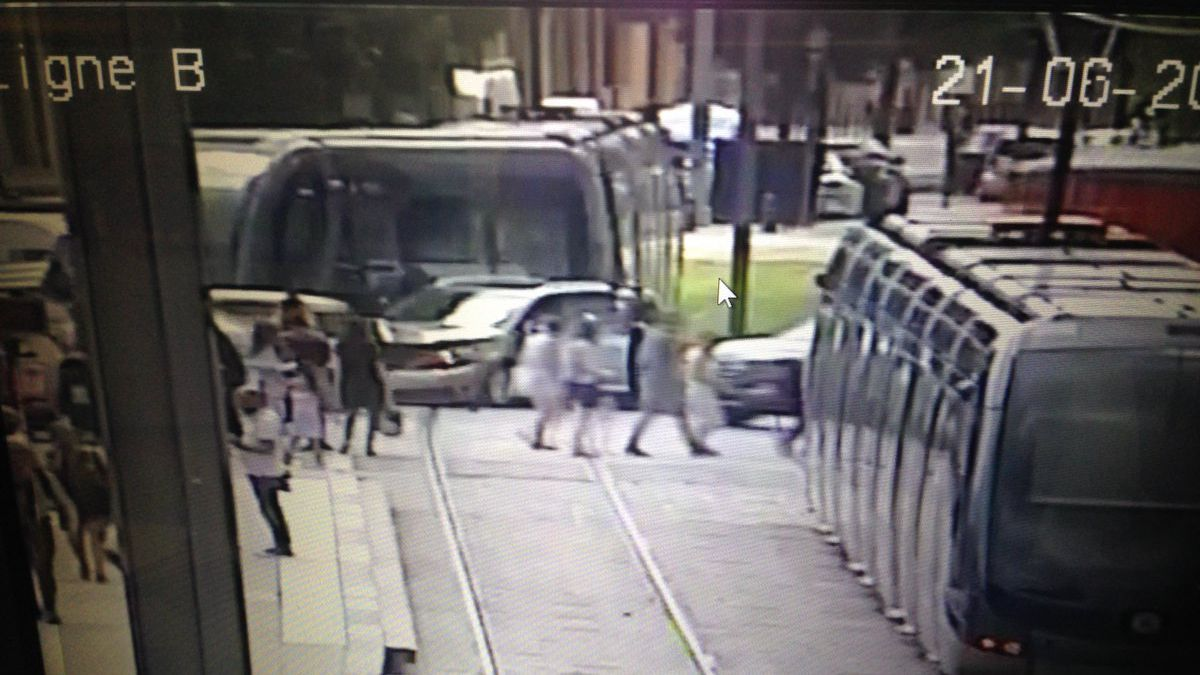 Accident de Tramway à Bordeaux : la ligne B interrompue