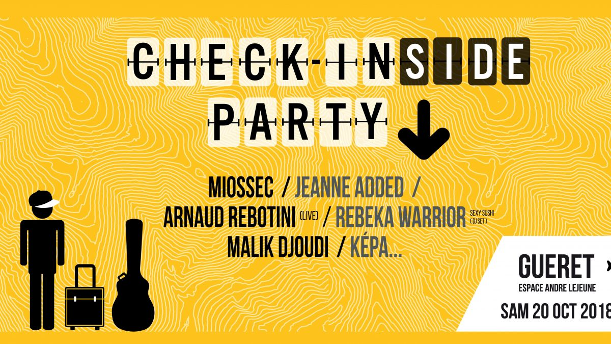 Avant-goût de la Check In Party, la Check In(side) Party aura lieu le 20 octobre / © Check In(side) Party