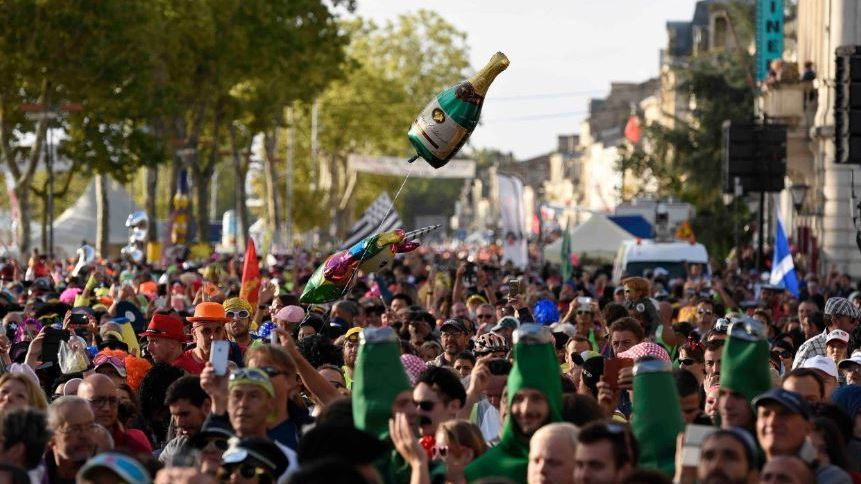 DIRECT VIDEO : Suivez le Marathon du Médoc 2018, la course folle à travers les vignobles