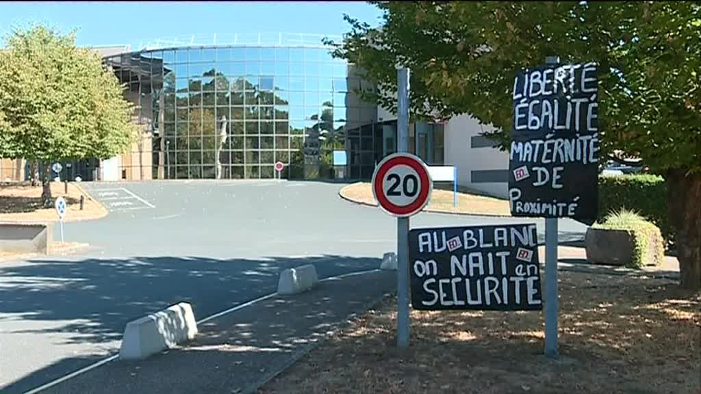 Les abords de la maternité du Blanc / © France 3 Centre