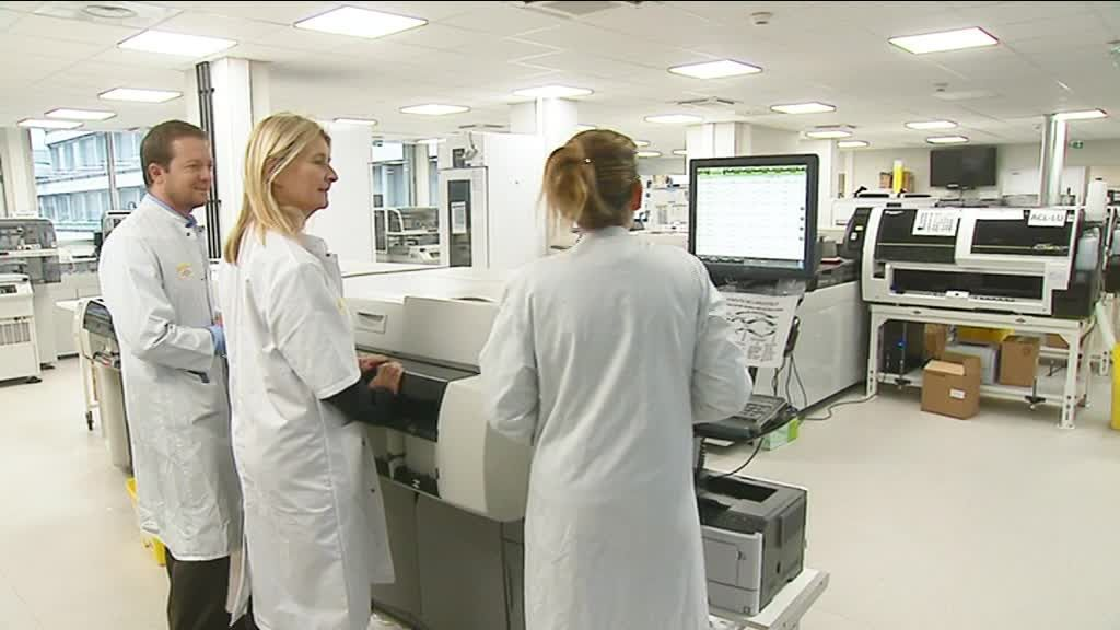 Le plus grand laboratoire d'analyses médicales hospitalier de France est à Bordeaux