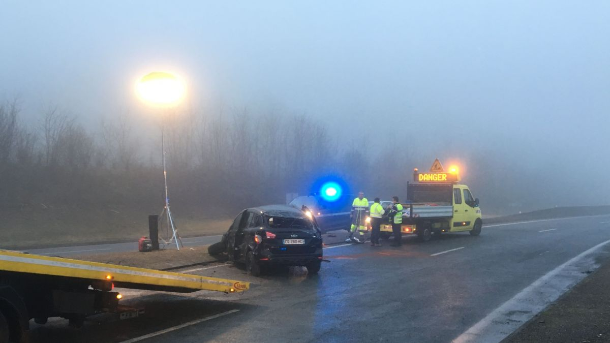 Accident mortel à Ussac, en Corrèze