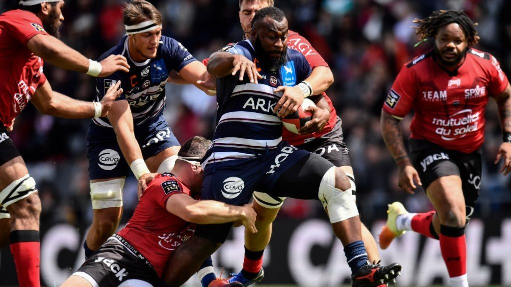 Top 14 : la poisse colle à l'UBB qui s'incline face à Toulon
