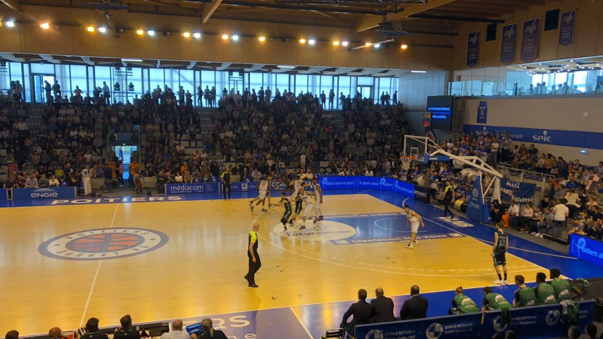 Basket : Poitiers s'impose 90-79 face à Gries Oberoffen et se qualifie pour les playoffs