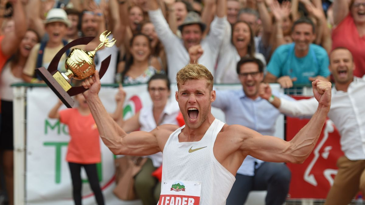 Talence : Kevin Mayer et Nafissatou Thiam au meeting d'athlétisme Decastar 2019