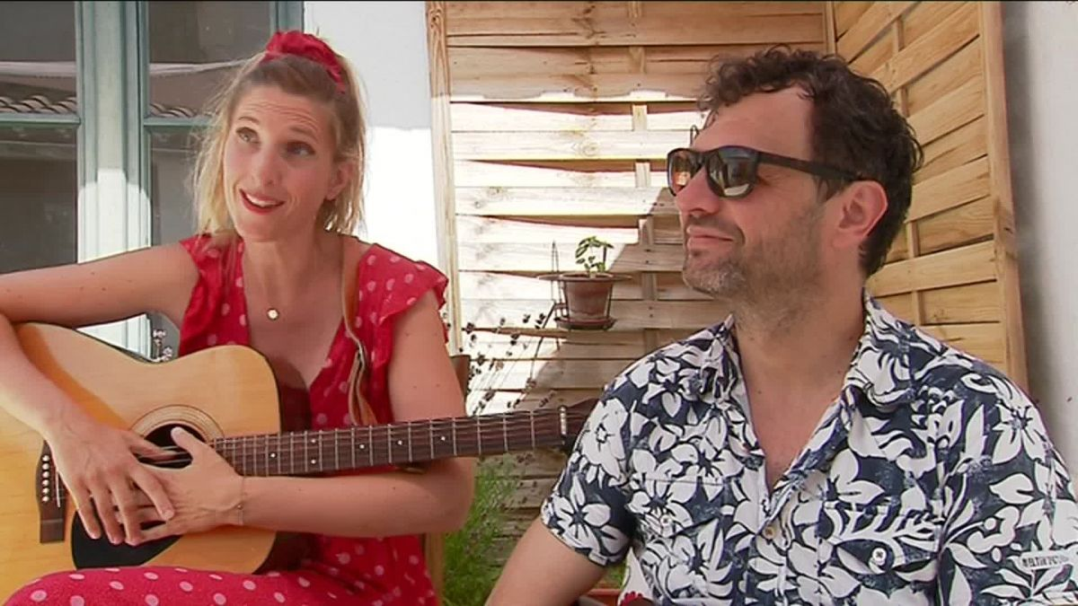 Lady Do et Monsieur Papa sont auteurs-compositeurs. / © FTV