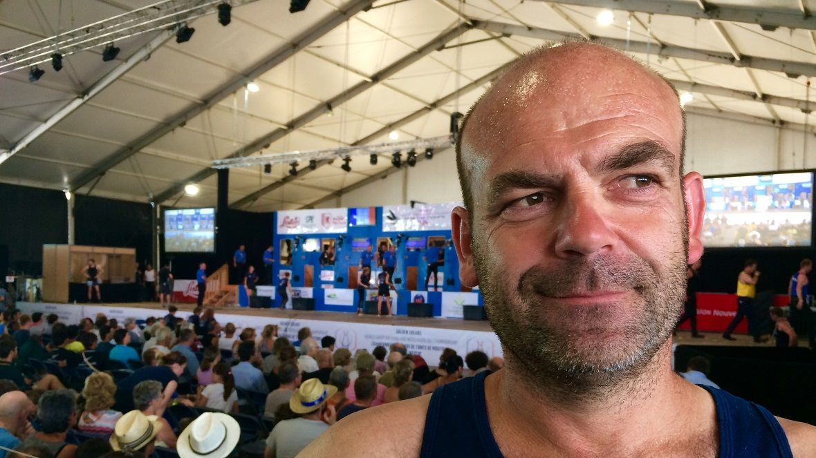 Mondial de tonte de moutons : Christophe Riffaud, champion de France de tonte machine