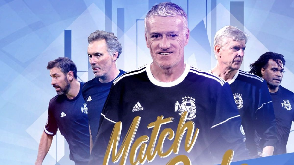 (Re)voir le match (solidaire) du Variétés Club de Didier Deschamps face à l'Aviron Bayonnais