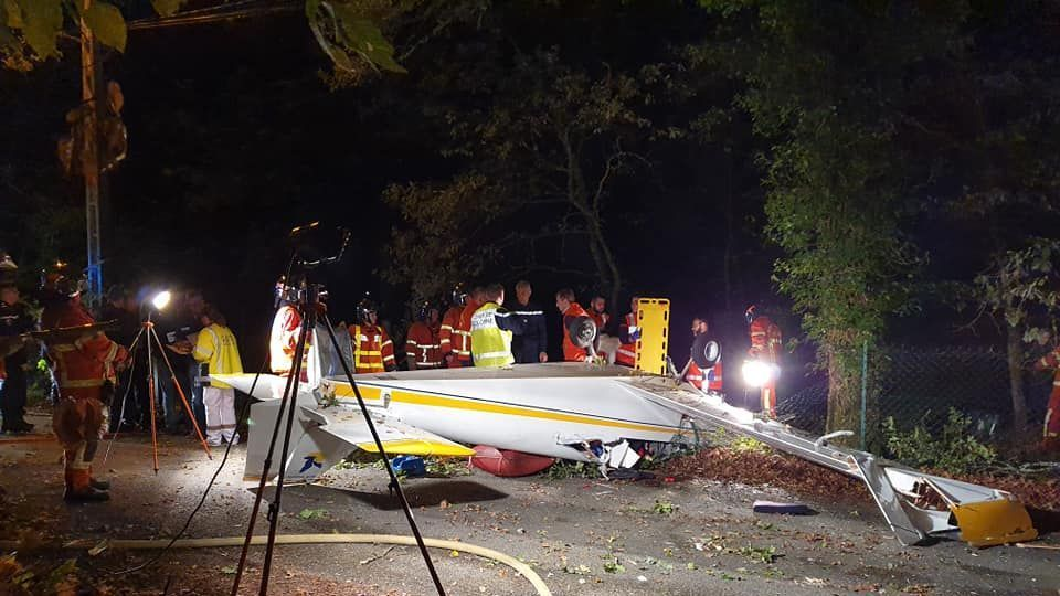 Deux morts dans le crash d'un petit avion à Saint-Junien (87)