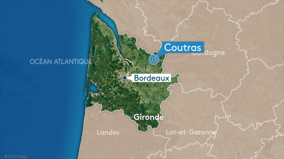 Gironde : accident mortel à Coutras