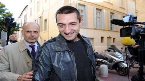 Montpellier - Dragan Gajic arrive au palais de justice de Montpellier - 16 octobre 2012. / © AFP PHOTO / PASCAL GUYOT