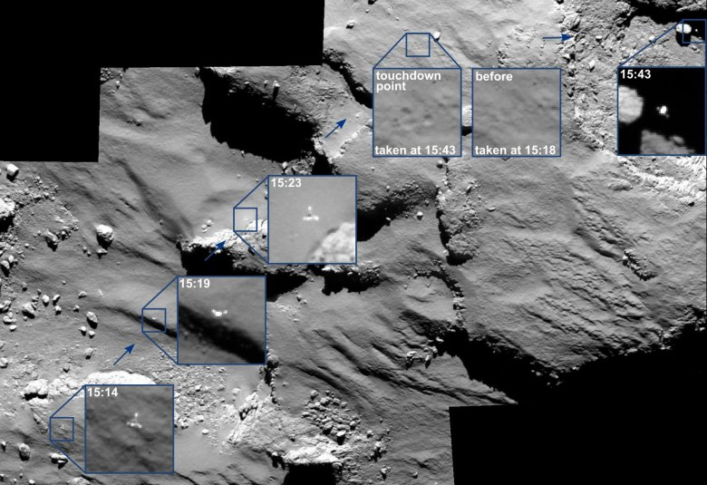 / © ESA/Rosetta/MPS for OSIRIS Team