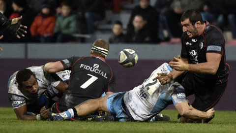 Toulouse assure l'essentiel face aux Glasgow Warriors