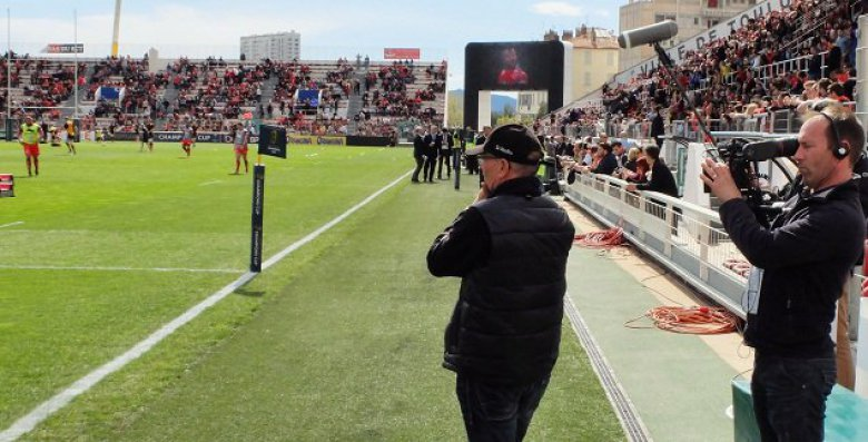 Henry Broncan au stade Mayol / © 13 productions