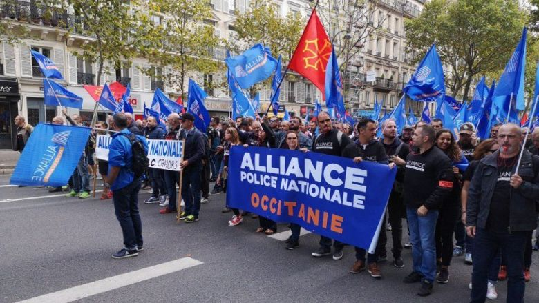 500 policiers d'Occitanie dans la manifestation nationale du 2 octobre 2019 à Paris / © David Leyraud, Alliance Police Occitanie