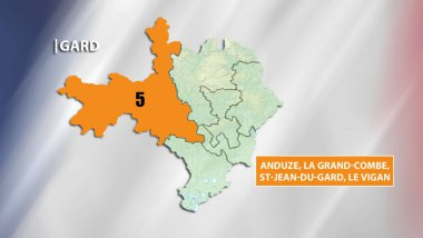 Législatives - Gard 5e circonscription / © F3 LR