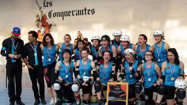 La Nothing Toulouse Championne de France Elite de Roller derby pour la 2ème fois / © France 3 Occitanie - Magic Yannick - Roller Derby Toulouse