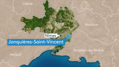 Jonquières-Saint-Vincent, Gard / carte / © France 3