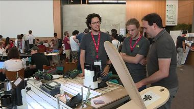 Plus de 1000 makers se retrouvent ce week-end à Toulouse à l'occasion du Festival du Fab Lab. / © France 3 Midi-Pyrénées