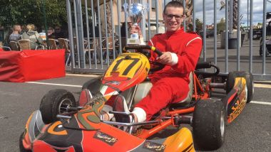 Adrien Collinet, pilote de kart autiste / © Julianne Paul, France 3 Occitanie