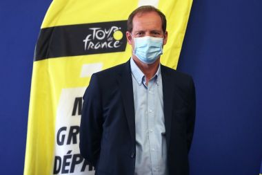 Christian Prudhomme. / © Valery Hache/AFP
