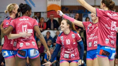 Volley-ball : les Béziers Angels en finale de la coupe de France
