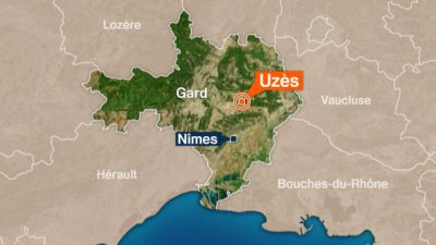 Grave accident de la circulation à Uzès dans le Gard