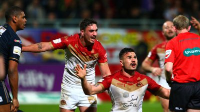 Super League : Tony Gigot prolonge avec les Dragons catalans pour 2 ans