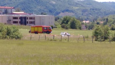 Villefranche de Rouergue : accident mortel d'ULM