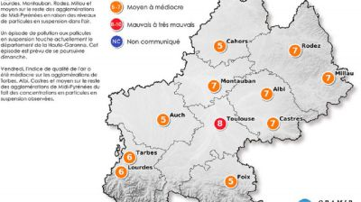 Alerte pollution en Haute-Garonne
