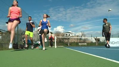 Gard : le fightennis, une nouvelle méthode d'entraînement mise au point à Bellegarde