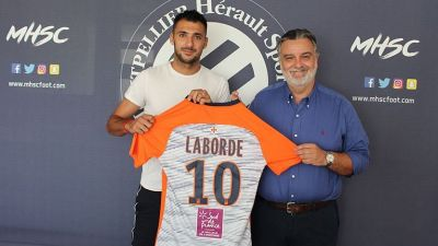 Ligue 1 : l'attaquant Gaëtan Laborde renforce les rangs de Montpellier