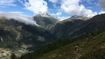 Coureurs course trail Swiss Peaks