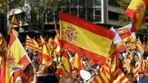 barcelone manifestation anti-independantiste catalogne