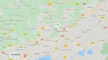 Capture Google maps Aubais 04.03.2020