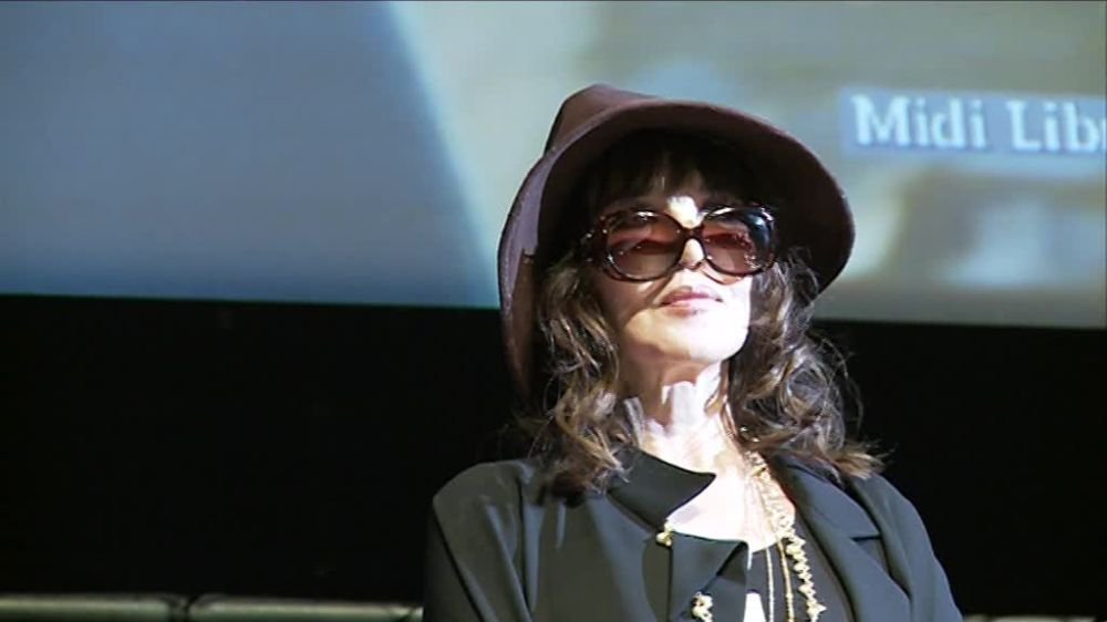 Les images d'Isabelle Adjani au Cinemed à Montpellier