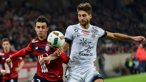 Football : Montpellier battu par Lille en 17e journée de Ligue 1