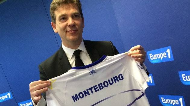Le maillot made in Tarn d'Arnaud Montebourg / © Facebook Europe 1