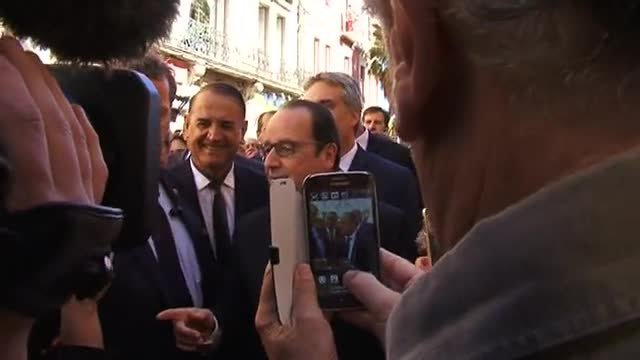 François Hollande à Sète / © france3LR